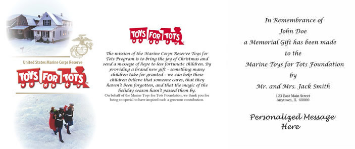 Marine Toys For Tots Foundation : Marine toys for tots foundation donate